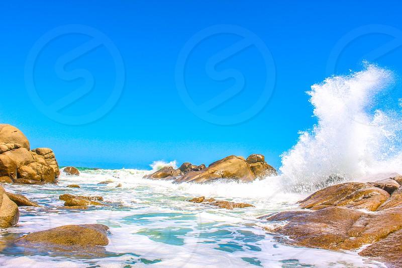 Ocean meets shore photo