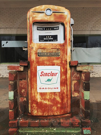 vintage sinclair gasoline photo