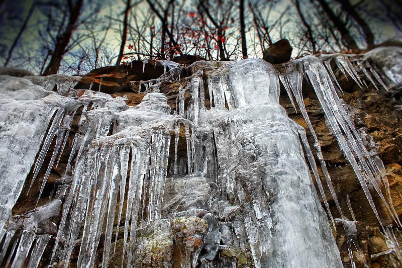 Wartburg TN icicle wall photo