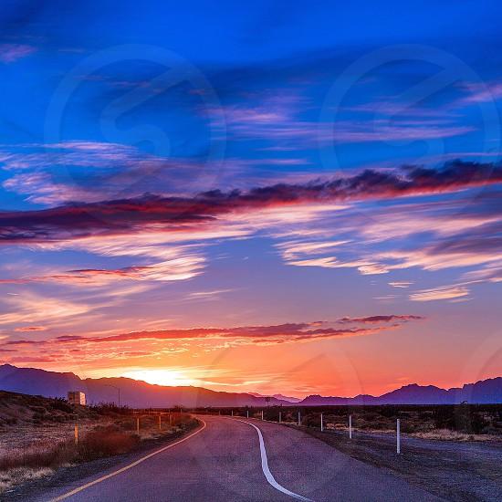 Arizona sunset photo