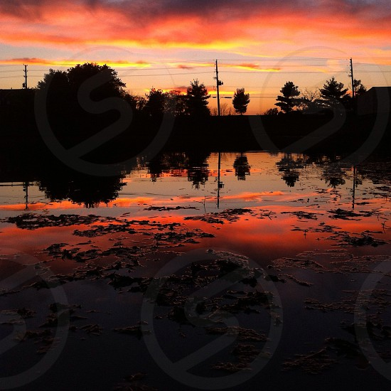 sunset view photograph photo