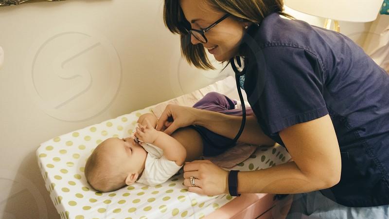home nursing baby nurse photo
