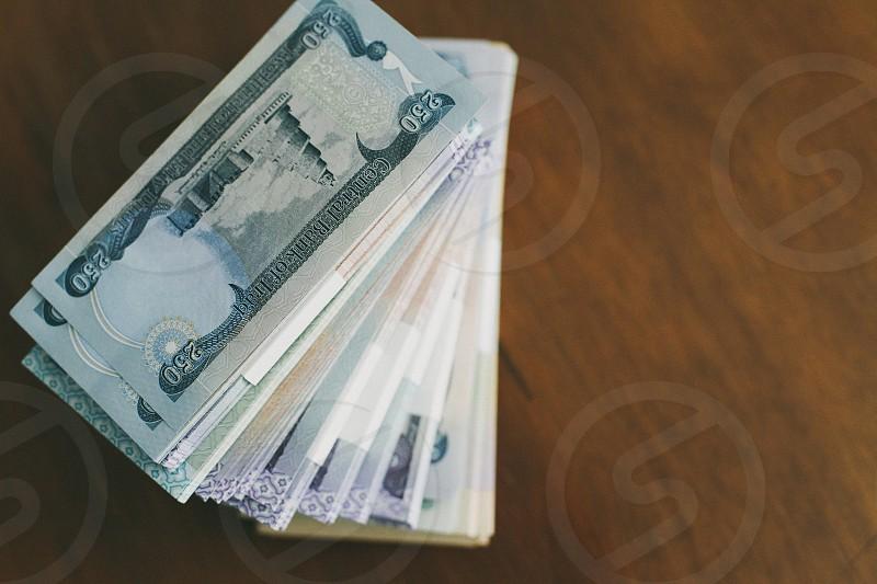 250 iraq banknote stack photo