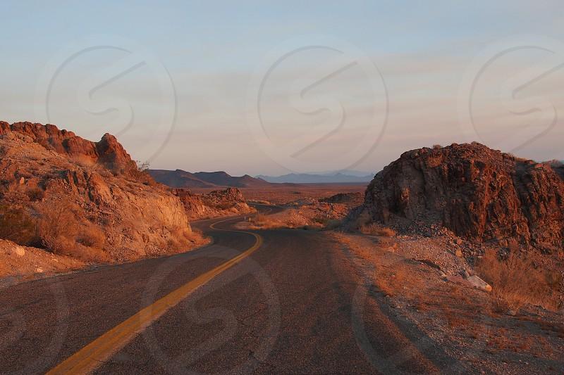 Open road. Travel photo