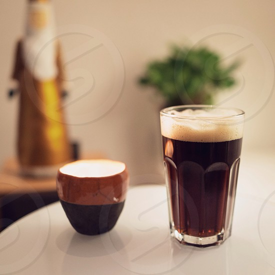 glass cup photo