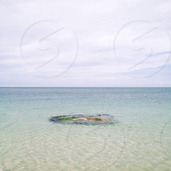 A concrete island photo