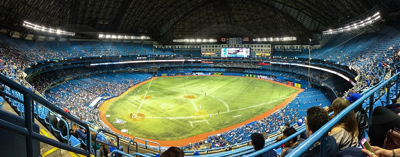 The Toronto Blue Jays at the Rogers Centre! - Skydome  photo