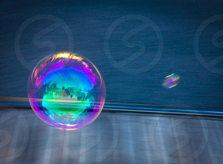 A Bubble in the stret photo