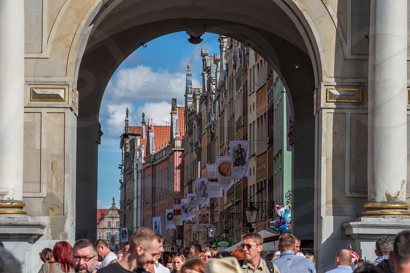 Golden Gate Gdańsk Poland photo