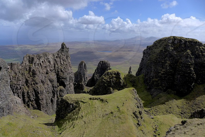 gray rock mountains during daytime photo