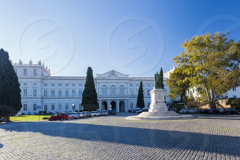 Palace of Ajuda in Lisbon Portugal photo