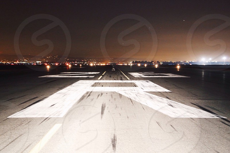 airplane runway photo
