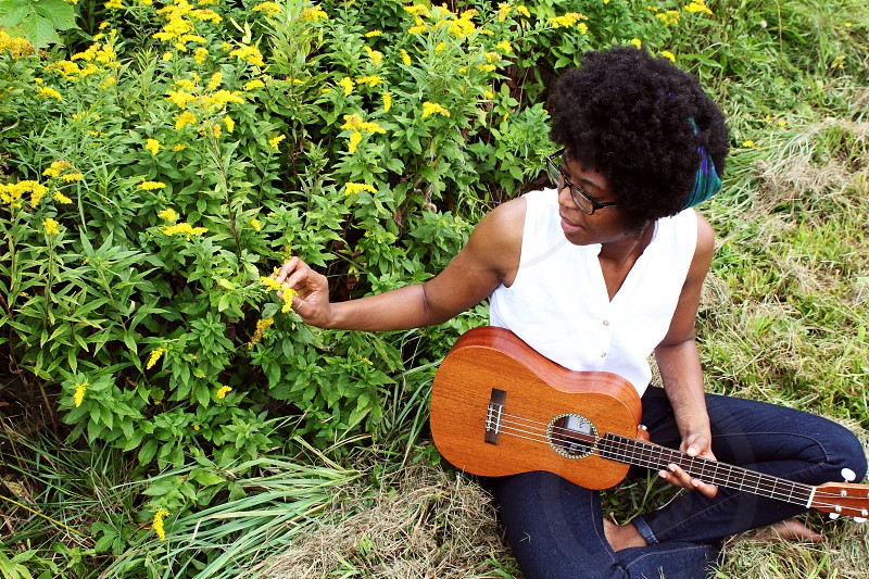 Cammy Enaharo. Local musician located in Rochester NY.  photo