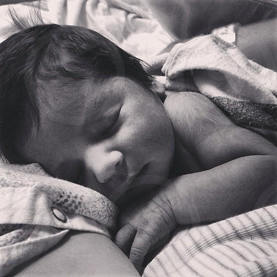 My baby girl beautiful beautifully asleep. Priceless photo