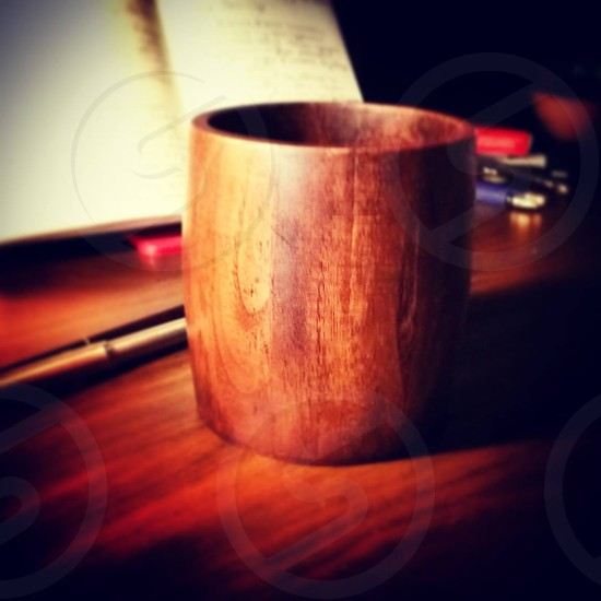 wooden souvenir photo