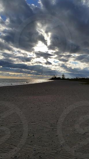 Sky sea sand!   photo