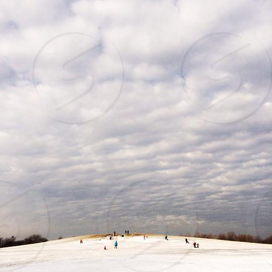 Big sky tiny people photo