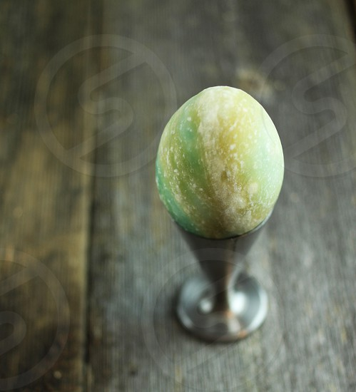 Egg stone granite marble rustic still life holiday Easter Easter egg photo