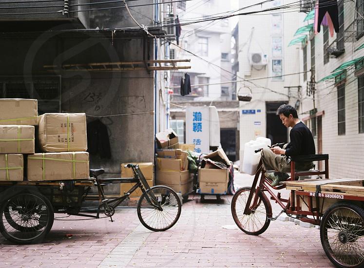 Between Jobs taken from my Guangzhou series on karlchild.com photo