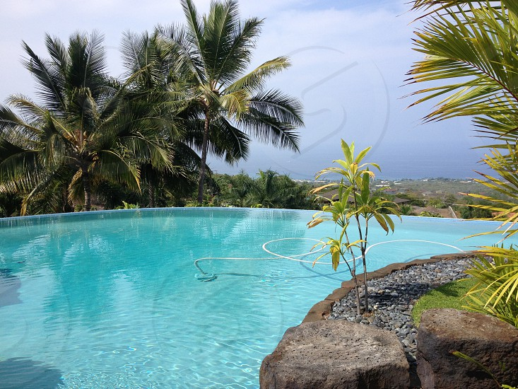 outdoor view of swimming pool photo