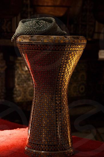 Vintage Moroccan Drum photo