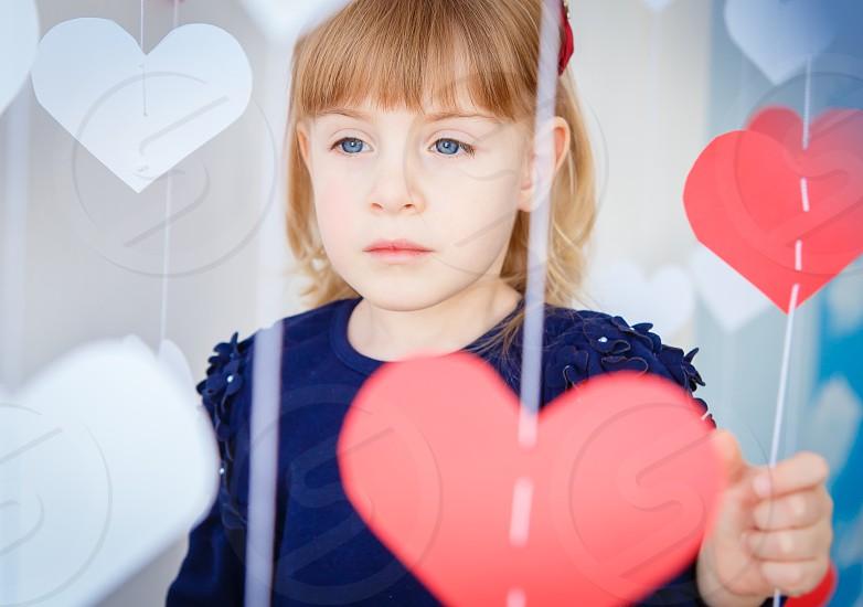 Valentine day sadness photo