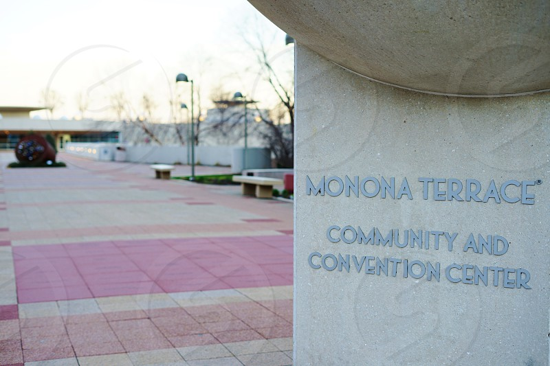 The Monona Terrace Community and Convention Center in Madison Wisconsin photo
