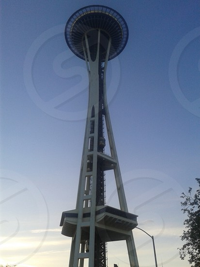Seattle space needle photo