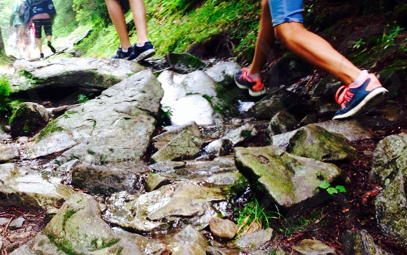 Hiking in the Smoky Mountains photo