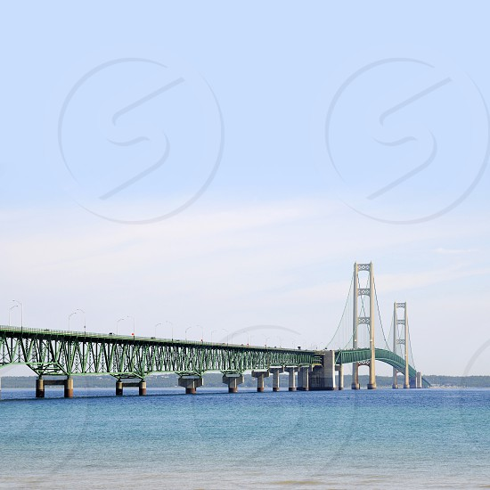 Mackinac Bridge Michigan photo