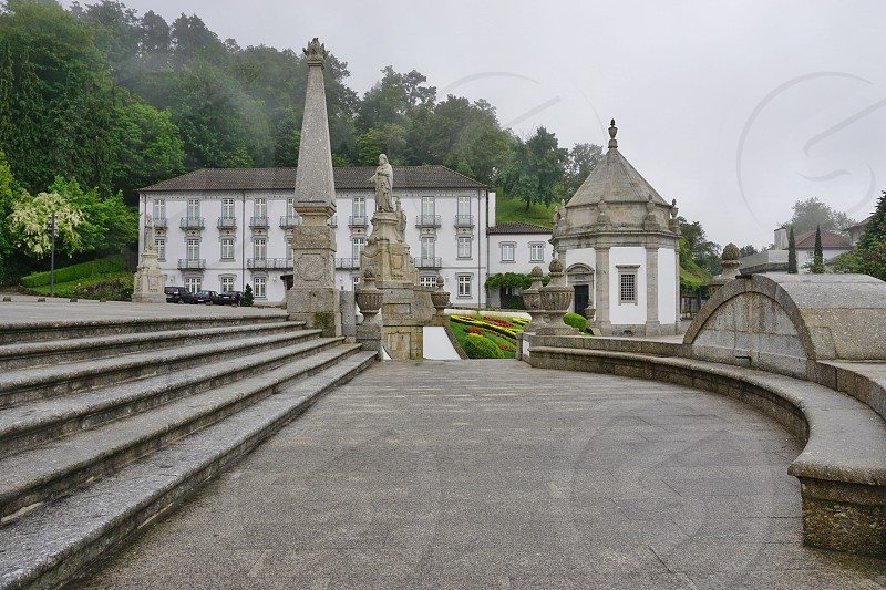 Bom Jesus do Monte - Braga Portugal photo