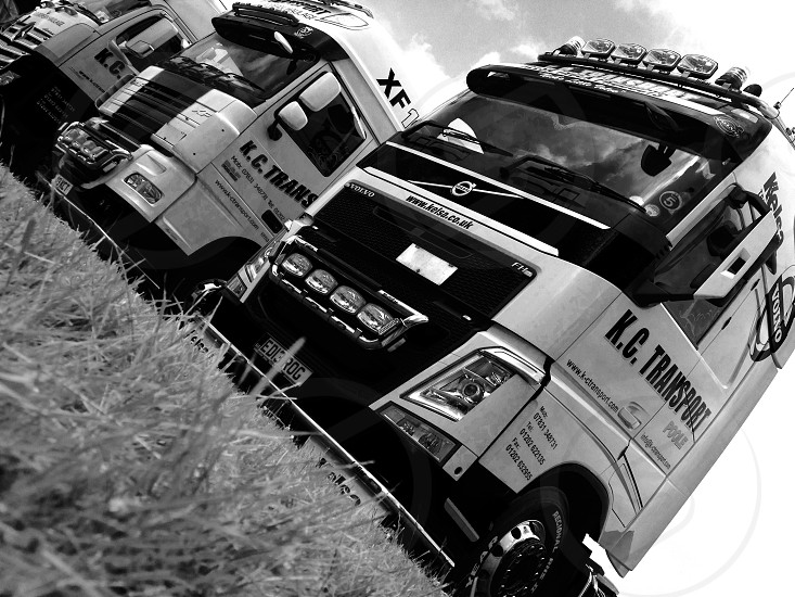 This photo was taken at Wessex truck show in Yeovil  Somerset this summer . Again this is the company I work for ( k c transport of Poole in Dorset )  photo