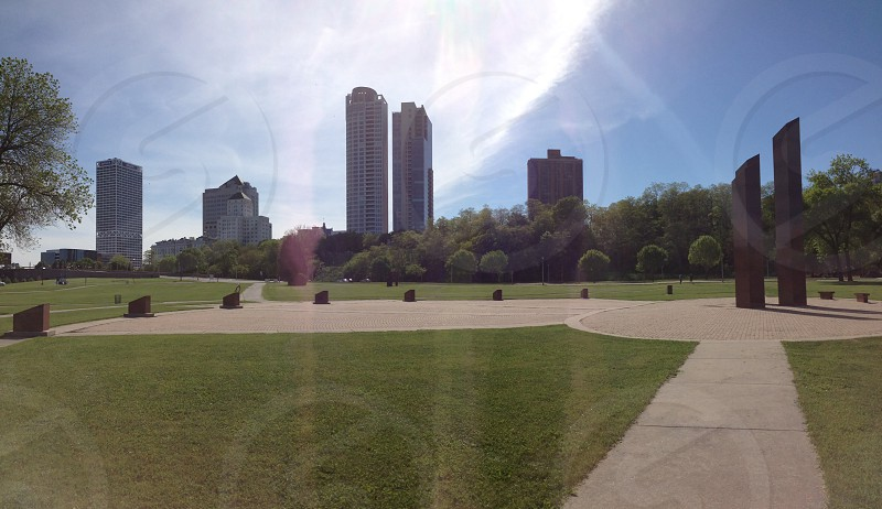Downtown Milwaukee photo
