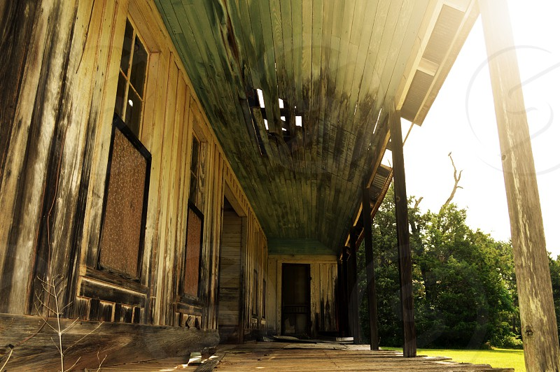 Abandoned home in Haynesville LA photo