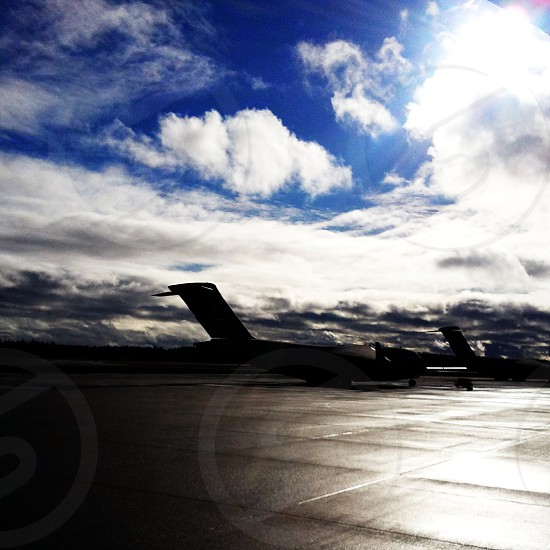 Airplanes & Blue Skies photo