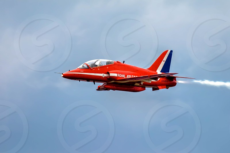 Red Arrow Aerial Display at Biggin Hill Airshow photo