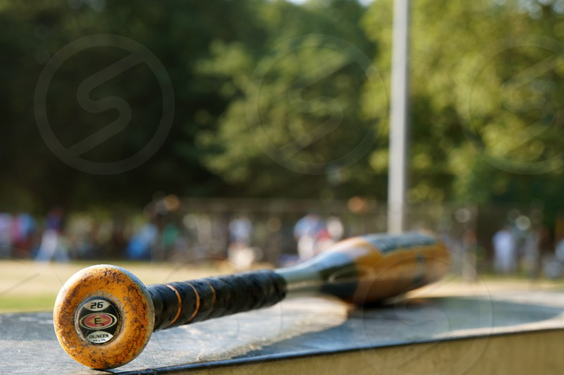 stainless steel baseball bat photo
