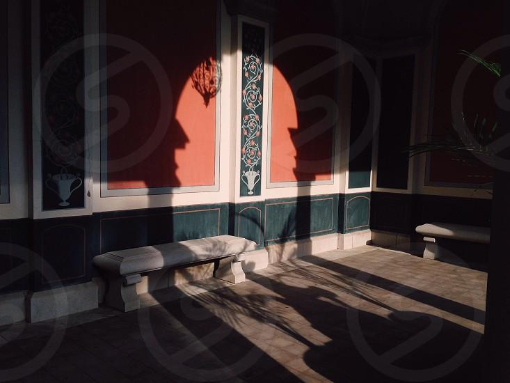 concrete bench photography photo
