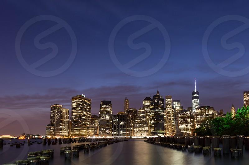 View of Lower Manhattan  photo