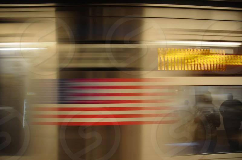 NYC Subway Train photo