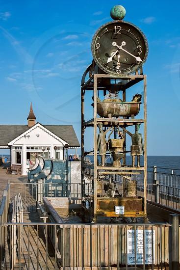 Southwold Pier Waterclock photo