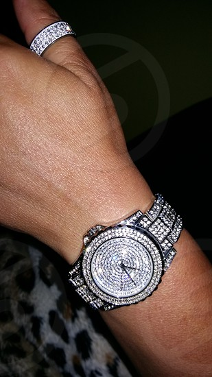 Nice bling watch photo