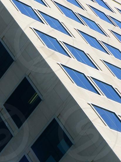 Office block shadows. photo