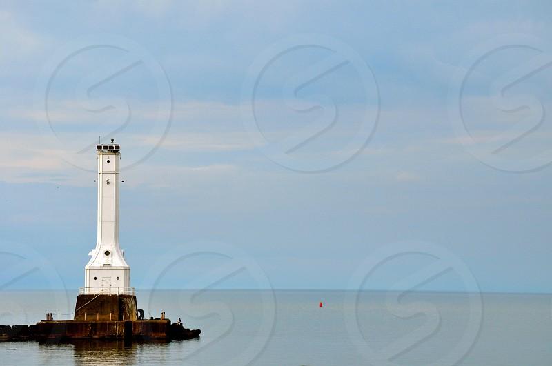Lighthouse on Lake Erie - Huron Ohio (USA) photo