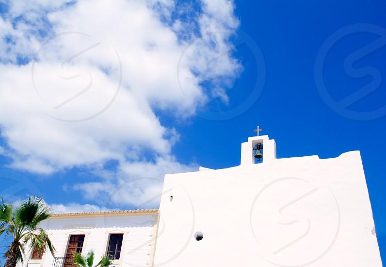 Church of San Francisco in Formentera near Ibiza island photo