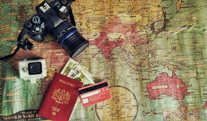 Traveling My Trip My Adventure. photo