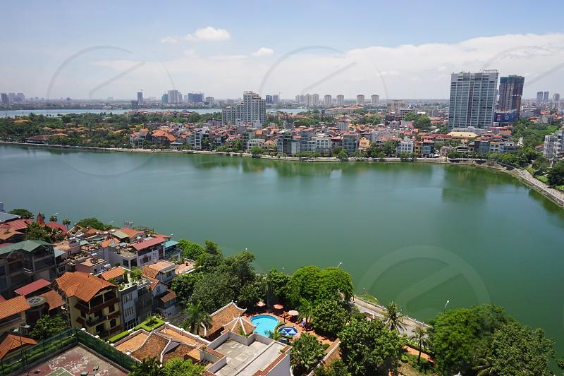 West Lake - Tây Hồ District Hanoi Vietnam photo