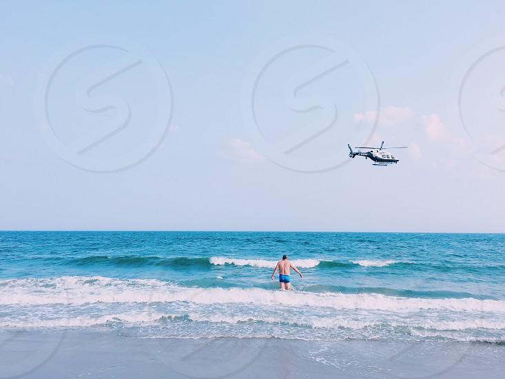 Beach summer photo