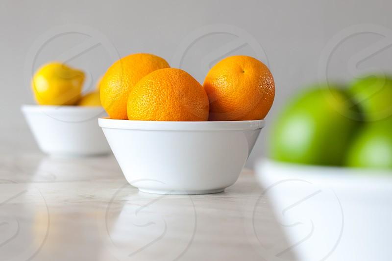 white ceramic bowl photo