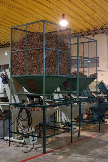 SAO BRAS DE ALPORTEL ALGARVE/PORTUGAL - MARCH 9 : Cork Factory in Sao Bras de Alportel Algarve Portugal on March 9 2018 photo